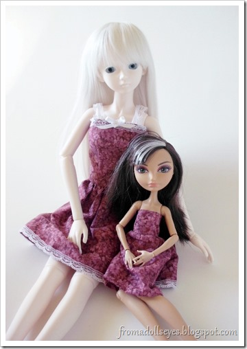 Of Bjd Fashion: Dresses to Sew and a Tutorial