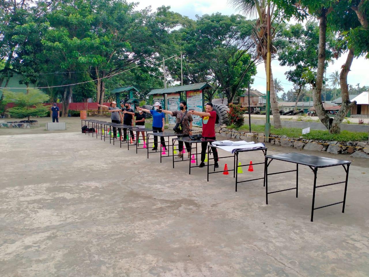Kesiapan Eksibisi Cabor Modern Pentathlon di Pekan Olahraga Nasional XXI Papua