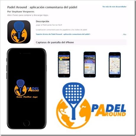 Se presenta Padel Around: APP gratuita comunitaria para los jugadores de pádel.