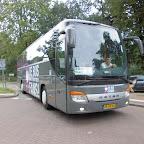 Setra van Besseling travel bus 4 met de bestickering van De bus krijgt steeds meer fans !