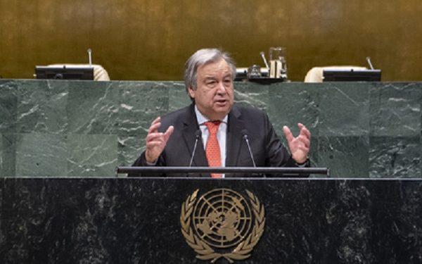 PBB: Pandemi Covid-19 Krisis Kemanusiaan Terburuk Sejak Perang Dunia II