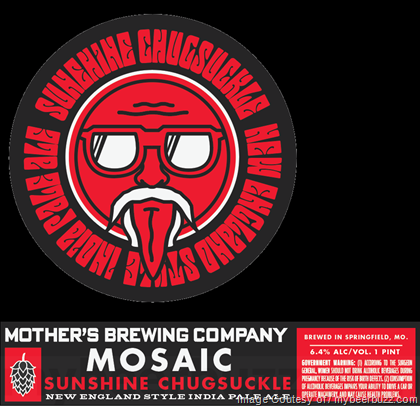 Mother's Brewing Mosaic Sunshine Chugsuckle