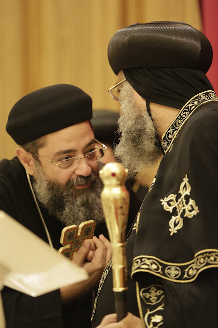 His Holiness Pope Tawadros II visit to St. Mark LA - _09A9068.JPG
