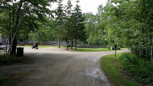 disability access at Acadian Historical Village, New Brunswick