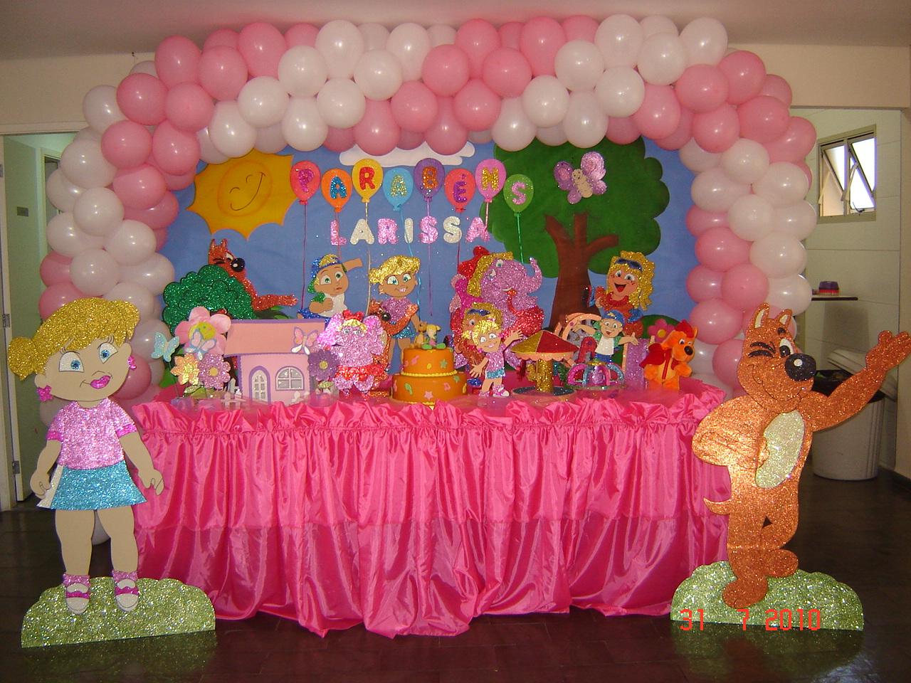 decoracao festa xuxinha:Festas Boli Boli: DECORAÇÃO XUXINHA, TXUTXUCÃO E TODA SUA TURMA