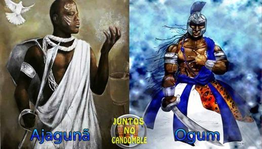 Oxaguiã- Ogum - ajaguna - Orixá - Candomblé - Umbanda