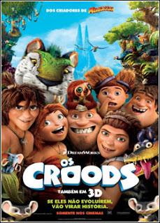 Capa Baixar Filme Os Croods (The Croods) Dublado – BDRip AVi – Torrent Baiixe Download