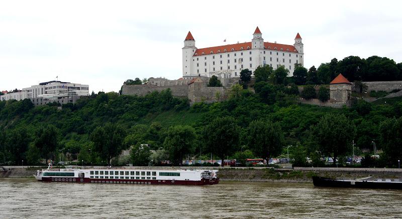 Ankunft in Bratislava