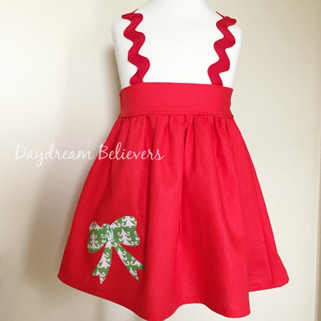 Christmas ELOISE jumper with bow by Daydream Believers