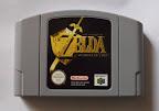 The Legend Of Zelda - Ocarina of Time - Cartucho delante