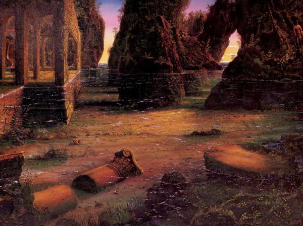 Dream Of Magick Landscape 12, Magical Landscapes 4