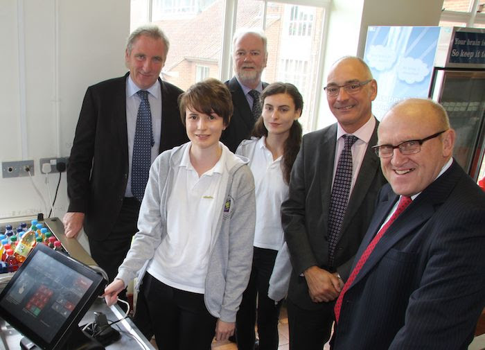 High school first in Montgomeryshire to go cashless