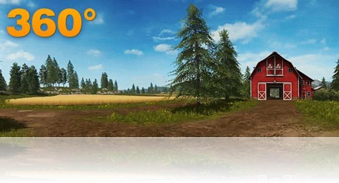 360° farming simulator 2017
