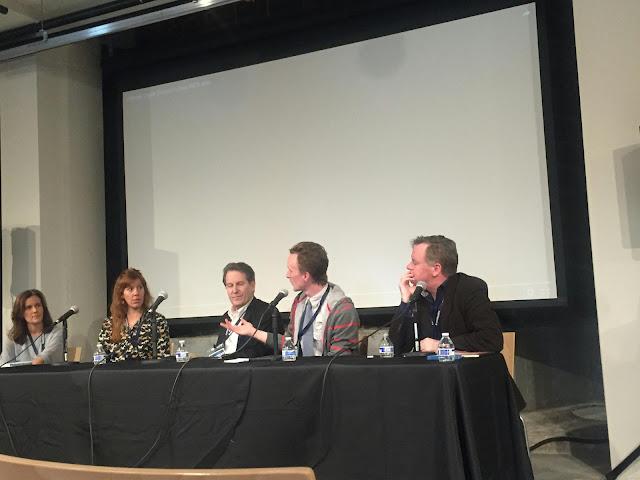 Actor Paul Cram, Peter Moore, Patrick Coyle, Kirsten Gregorson, Kate Nowlin