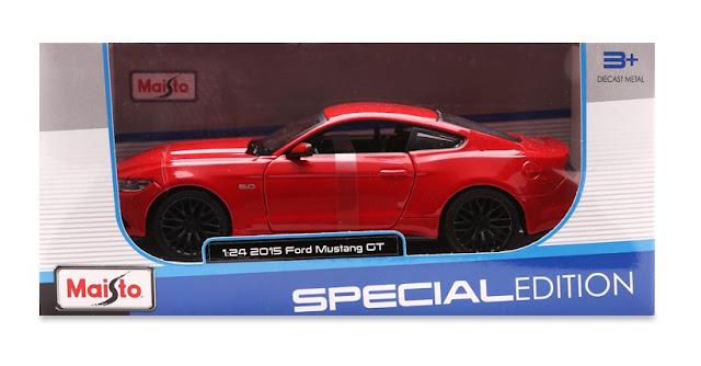 Xe mô hình Ford Mustang GT 2015 Maisto tỉ lệ 1/24