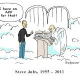 """Steve Jobs - Viñetas """"religiosas"""" en su muerte"""