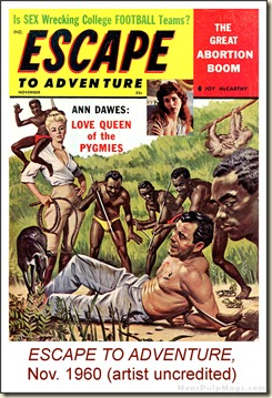 Escape To Adventure, November 1960