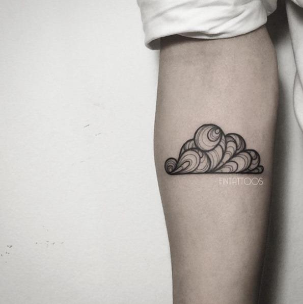 Estes redemoinho de nuvens