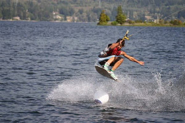 Wakeboarding is one of the many popular recreational activities on Lake Whatcom.Credit: Michael Watters