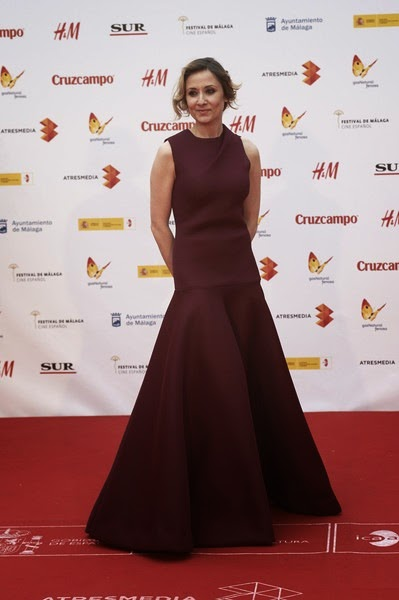 Nathalie Poza attends the 18th Malaga Spanish Film Festival close ceremony