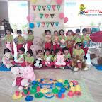 Celebration of Teddy Bear's Birthday Tea-party by Nursery Section at Witty World Bangur Nagar (2018-2019)
