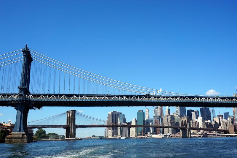 DSC06263 - Manhattan and Brooklyn bridges