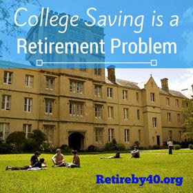 College Savings is a Retirement Problem thumbnail