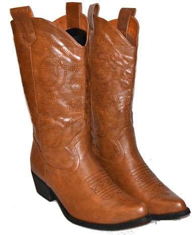 CAndy Womens Cowboy Boots - Light Brown at Sears.com