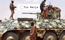 Panic as Boko Haram takes delivery of Brand new War Tanks and Vehicles in Sambisa forest.