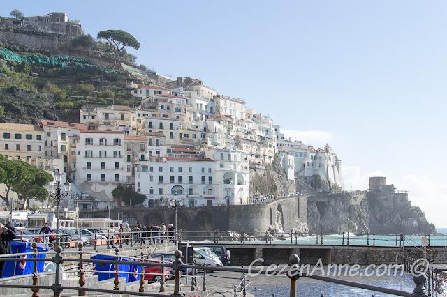 Amalfi manzarası, Güney İtalya
