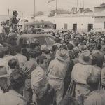 Gira por todo el país en 1956