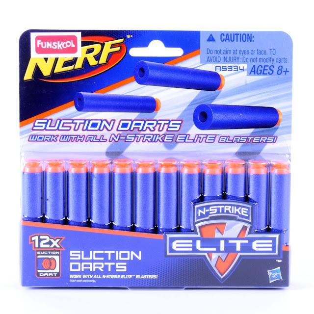 Vỉ đạn 12 viên cho súng đồ chơi Nerf