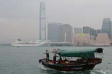 Vue vers Kowloon