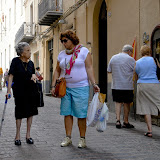 19. Chat with locals. Cefalu. Sicily. 2013