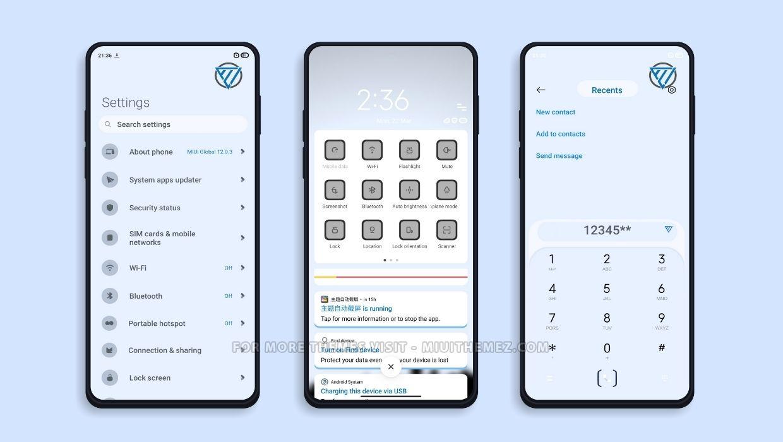Simple Design v12 MIUI Theme