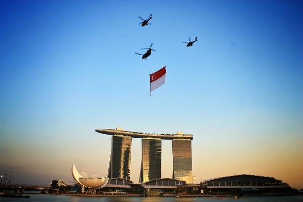 Fly High, Flag