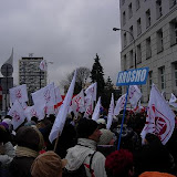 Manifestacja w Warszawie 20 listopada 2008