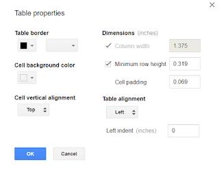 Cant Resize Table Columns Google Product Forums - Google docs columns