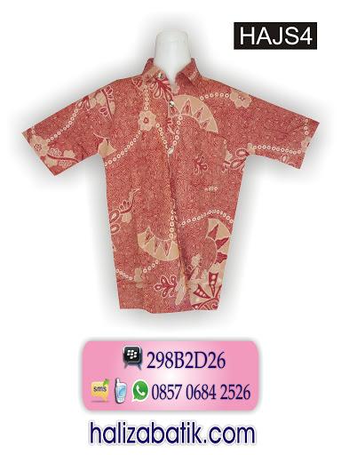 grosir batik pekalongan, baju batik anak, butik online, contoh desain batik