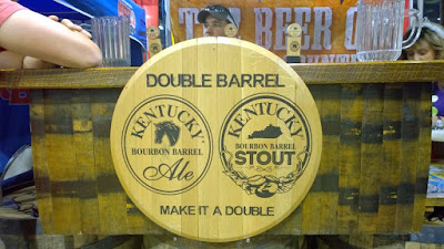 A tip for remembering what beers you sampled at GABF - take photos! Kentucky Bourbon Barrel ales and stouts