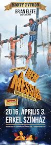 Website design, arculattervezés  és reklám plakát tervezés a Nem a Messiás  Musical-nek.