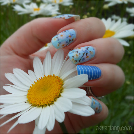 Jamberry Floral Nail Art