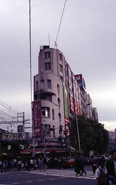 建て替え前のじゅらくビル