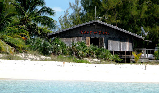 Bahamas-Chat-N-Chill.jpg - Visit the Exuma Beach bar Chat N Chill for a drink or meal.