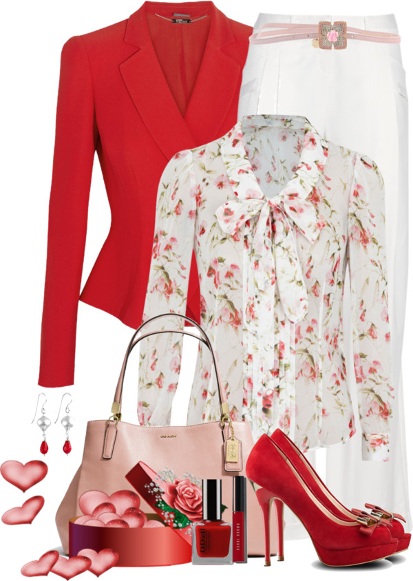 Essay Ideas of Valentines Day Outfits from Polyvore