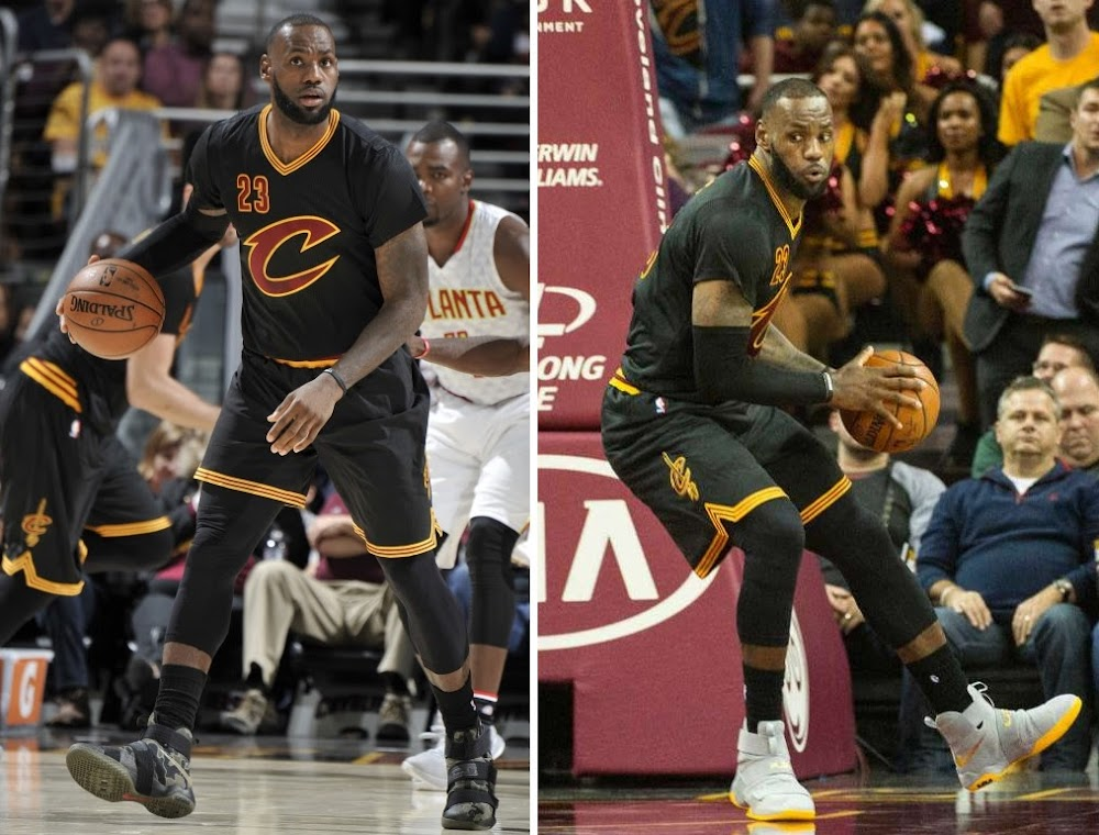 7d4e2a991de16 James Debuts Two New Nike LeBron Soldier 10 Colorways | NIKE LEBRON ...