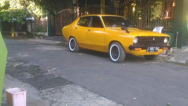 Lapak Sedan Retro Japan : Dijual Datsun 120Y Tahun 75 - CIREBON