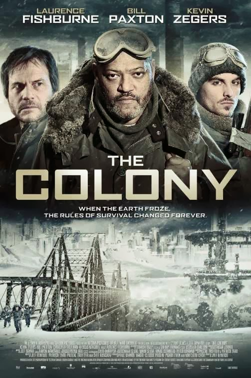 Poster Of The Colony (2013) Full Movie Hindi Dubbed Free Download Watch Online At Alldownloads4u.Com