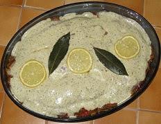 Filet de dorade sébaste à la tapenade verte