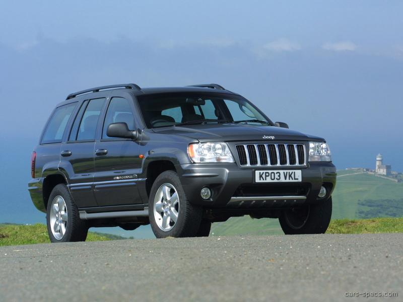 2004 jeep grand cherokee suv specifications pictures prices. Black Bedroom Furniture Sets. Home Design Ideas